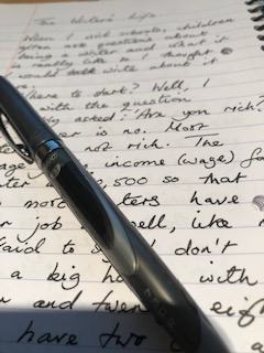 Writing and pen