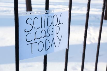 shut school